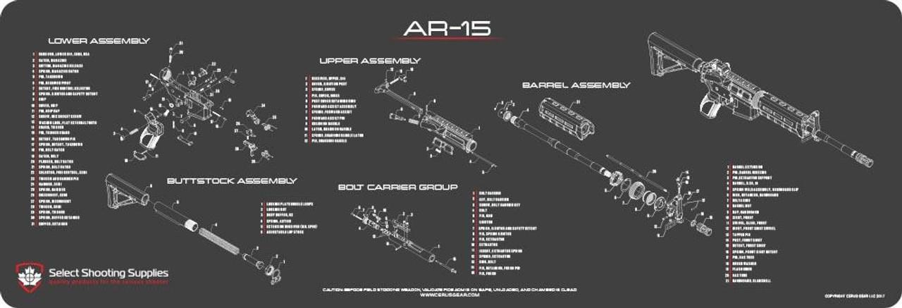 AR-15 SCHEMATIC PROMAT
