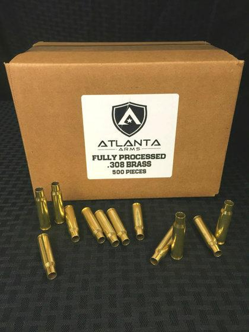 Atlanta Arms - .308WIN FULLY PROCESSED BRASS - 500 PIECES