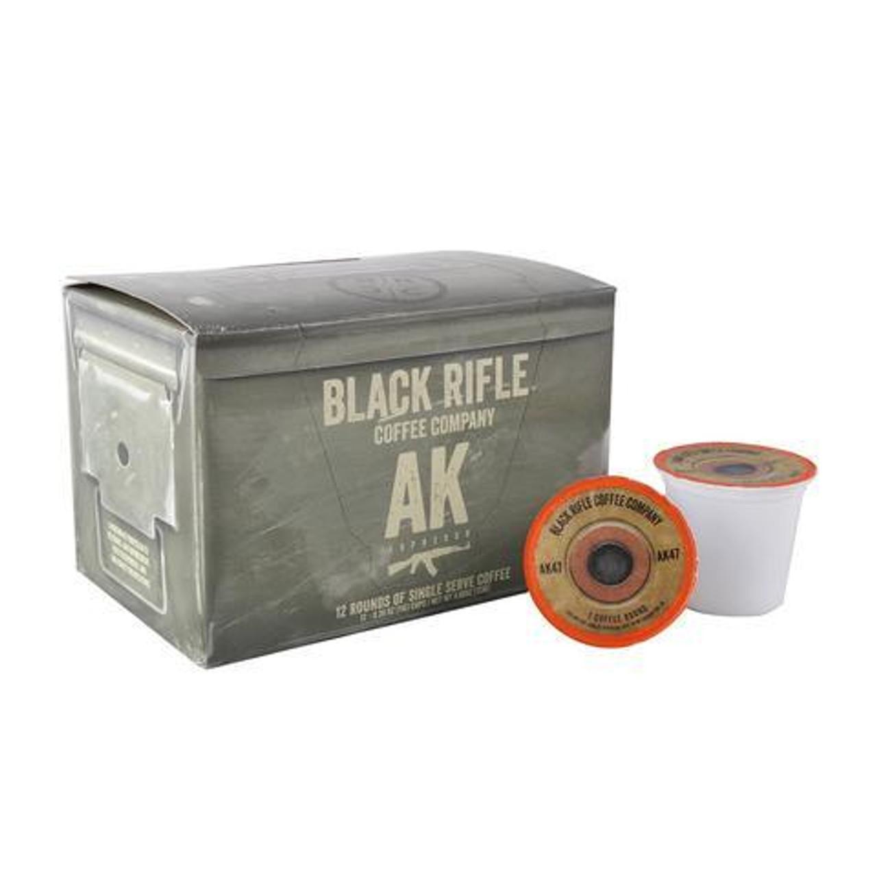 Black Rifle Coffee - AK-47 ESPRESSO COFFEE ROUNDS