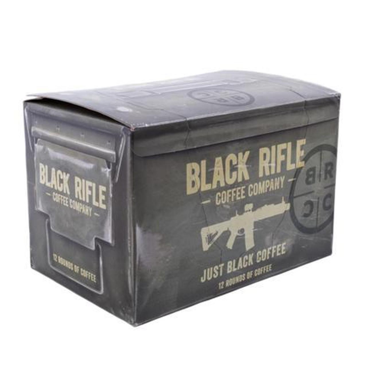 Black Rifle Coffee - JUST BLACK COFFEE ROUNDS