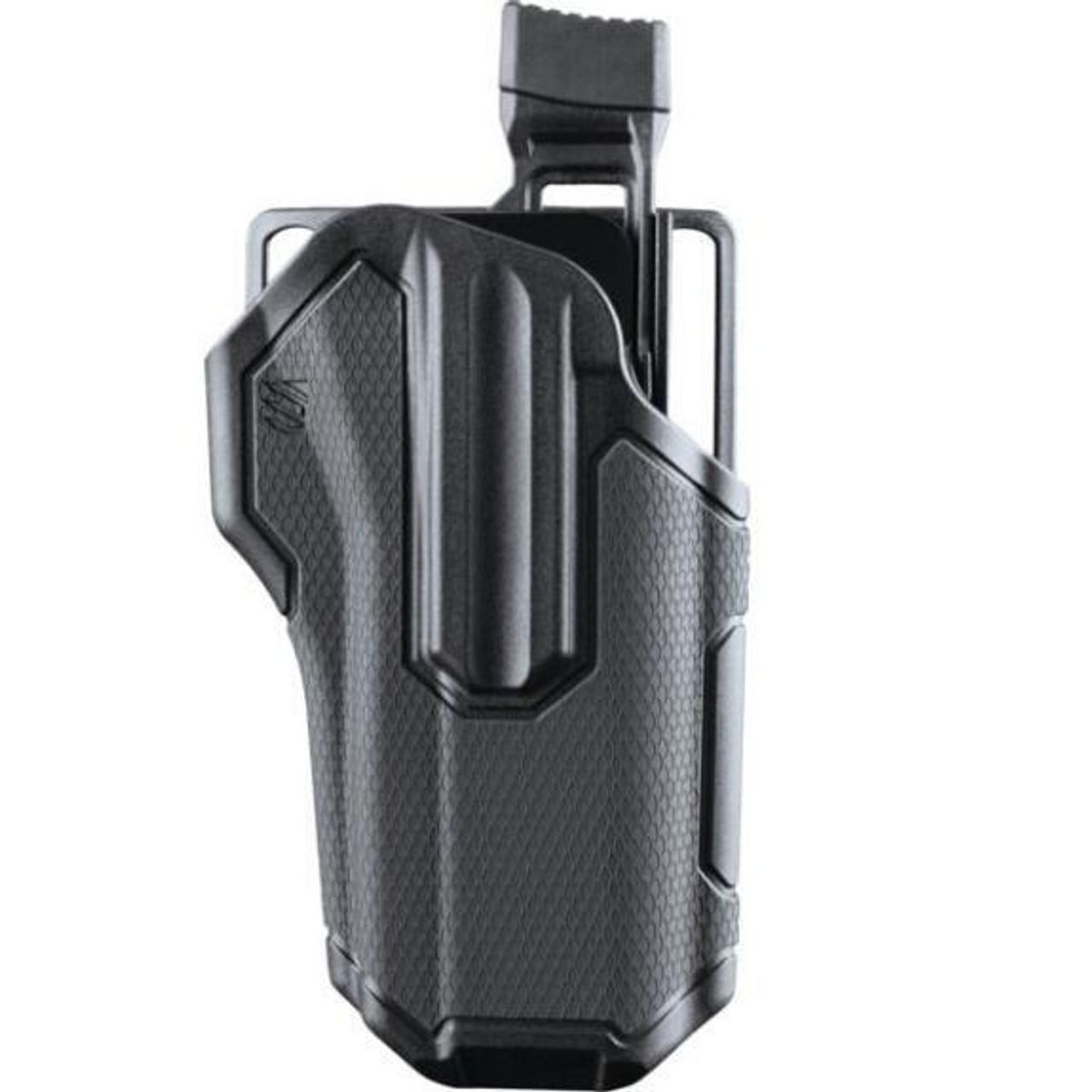 BLACKHAWK - Omnivore Multi fit Holster for Most Handguns with Rails Grey/Black