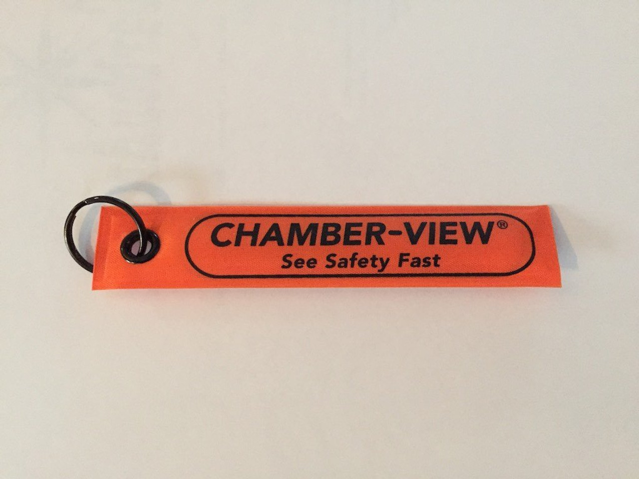 Chamber-View Fast-Pull Tag