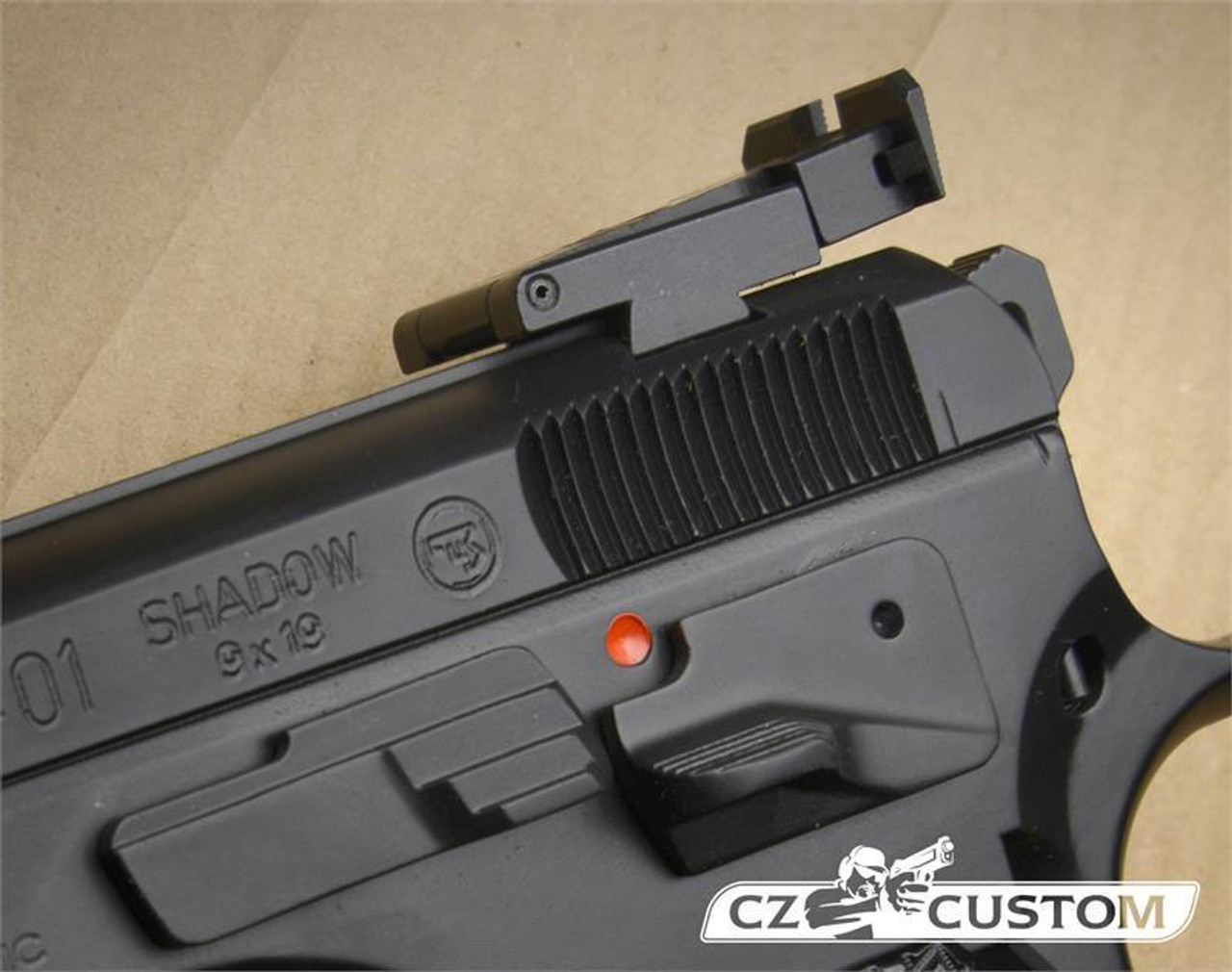 CZ 75 & SP01 Shadow & Shadow 2 Adjust Rear Sight
