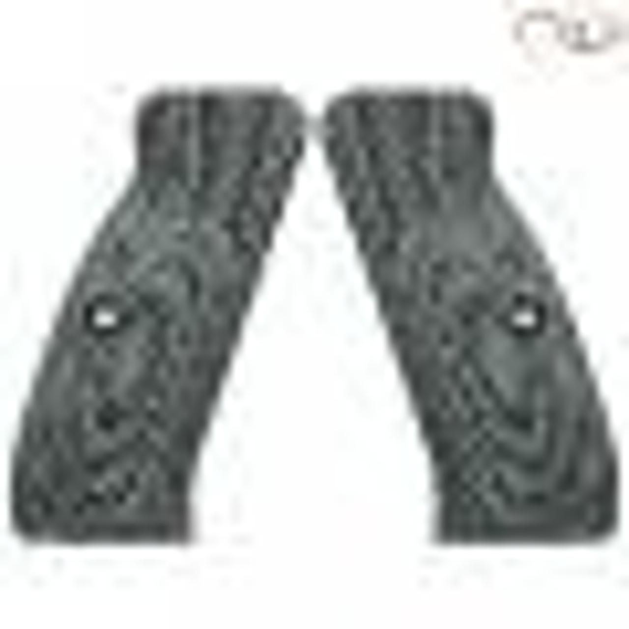 CZ 75 Palm Swell Diamond Backs Black Gray G10