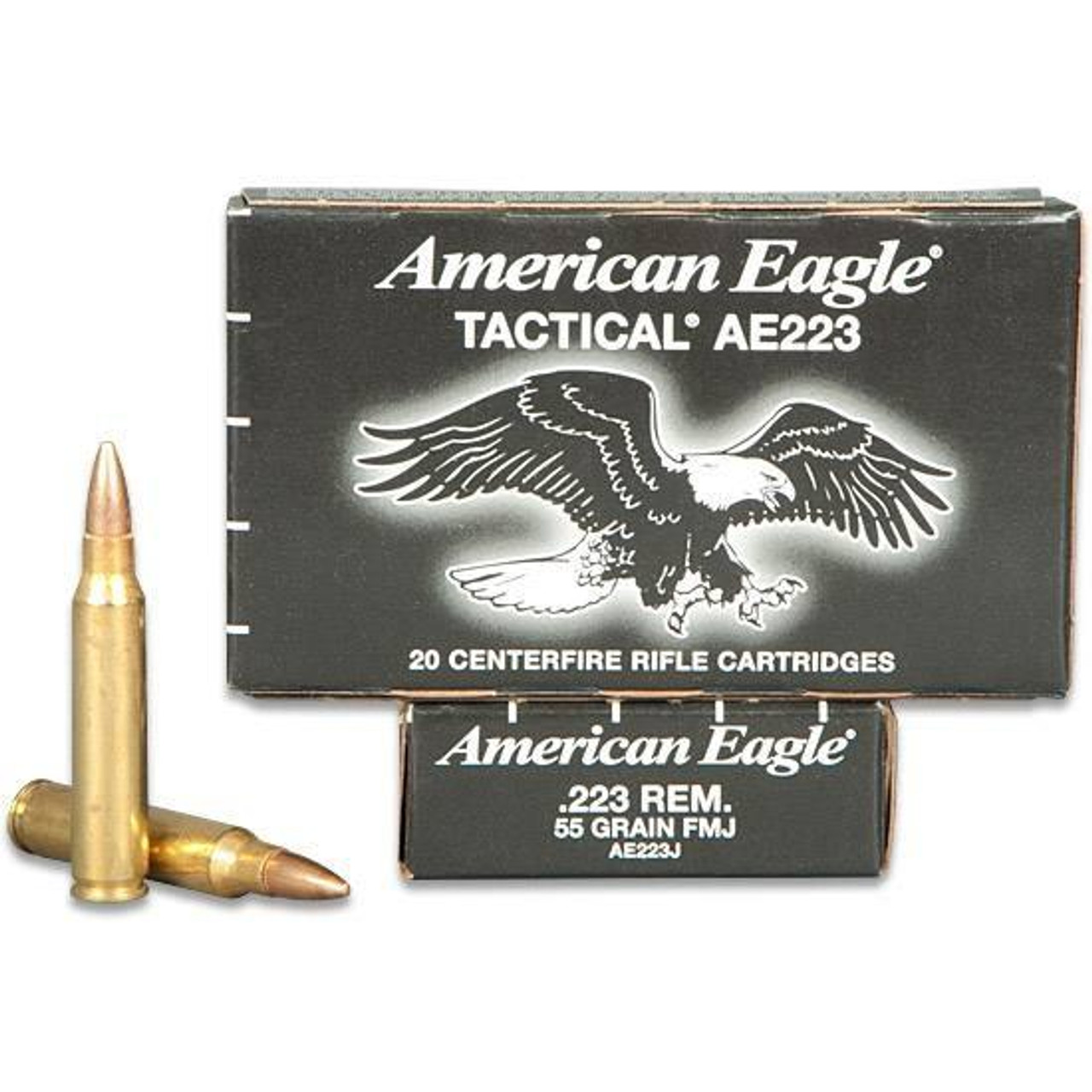 Federal American Eagle 223 REM 55Gr 20RD Tactical