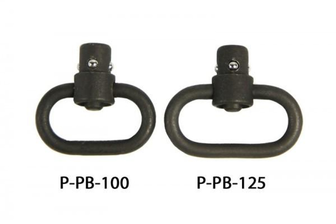 HEAVY DUTY PUSH BUTTON SLING SWIVEL