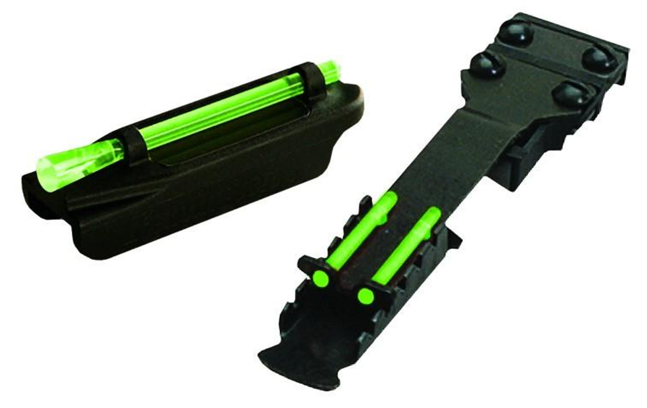 HI-VIZ Remington ETA Front & Rear Fibre Optic Sight Combo