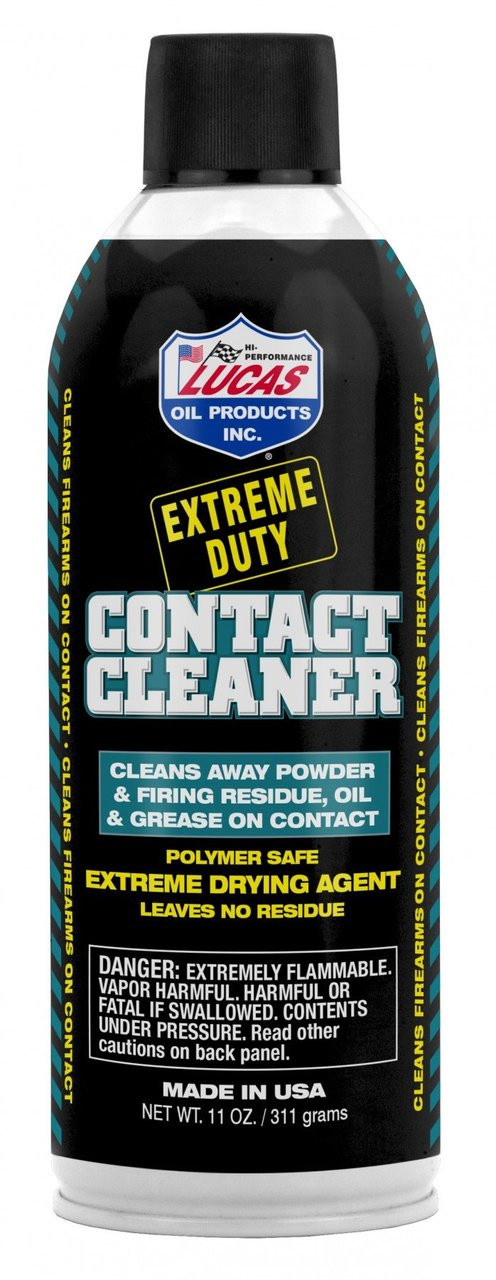 Lucas Extreme Duty Contact Cleaner