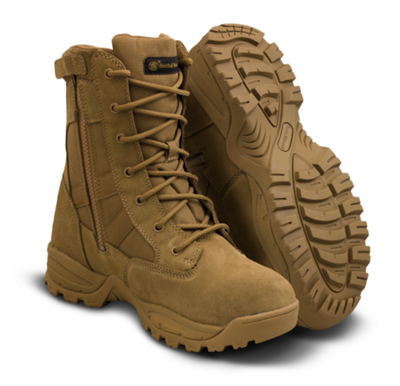 """SMITH & WESSON - BREACH 2.0 8"""" WATERPROOF SIDE ZIP BOOTS"""