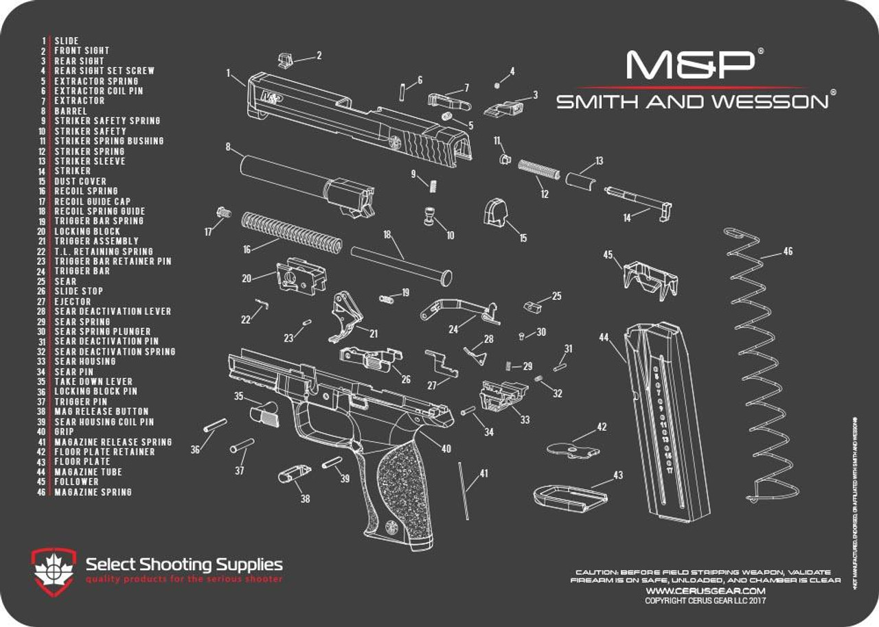 SMITH & WESSON® M&P® SCHEMATIC on