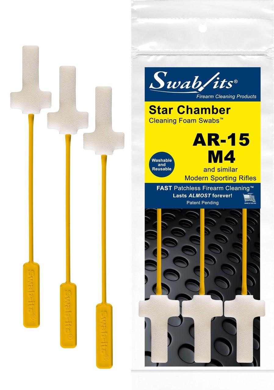 Star Chamber Cleaning Foam Swab (3 pack)