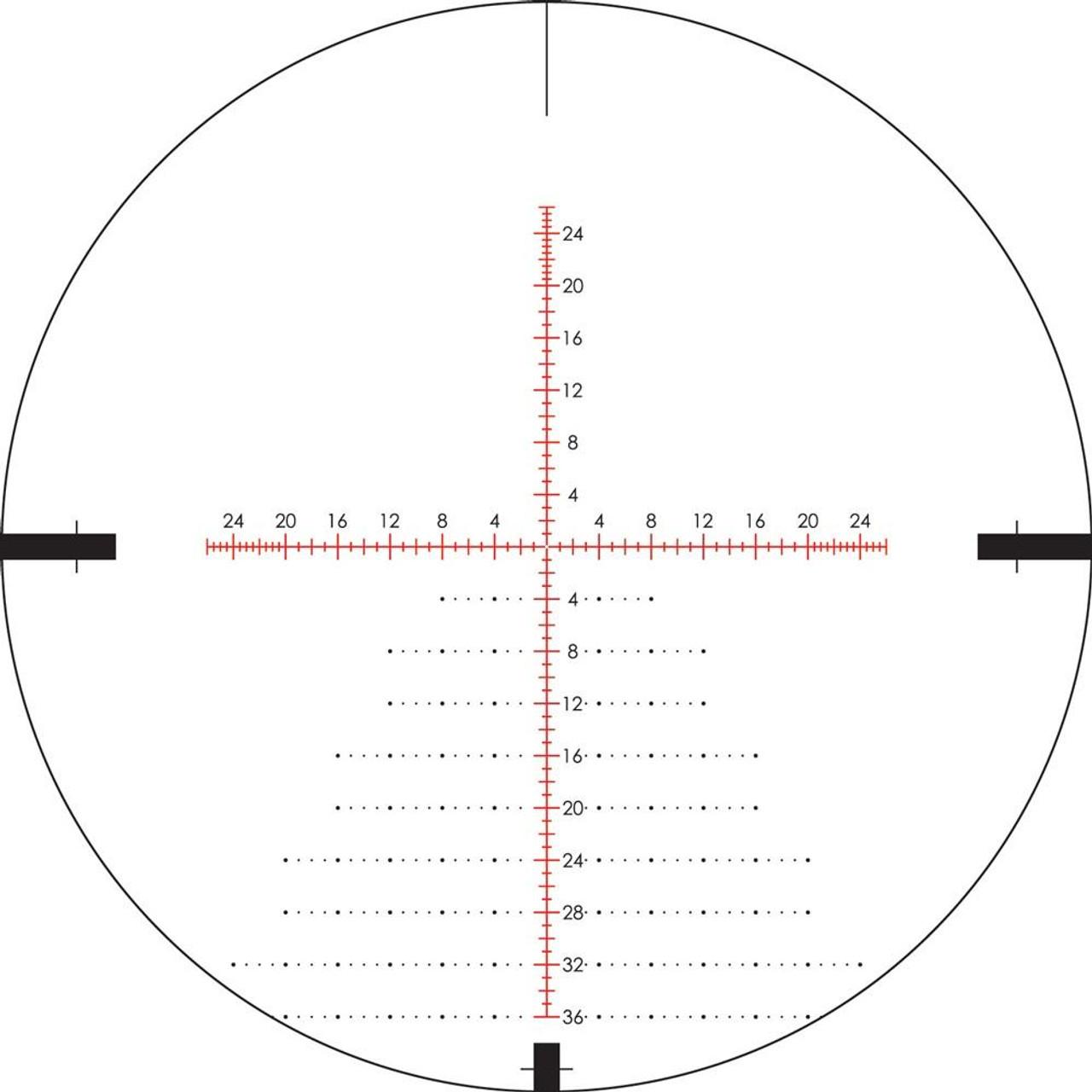 Vortex Viper PST 5-25x50 FFP Riflescope with EBR-2C MOA