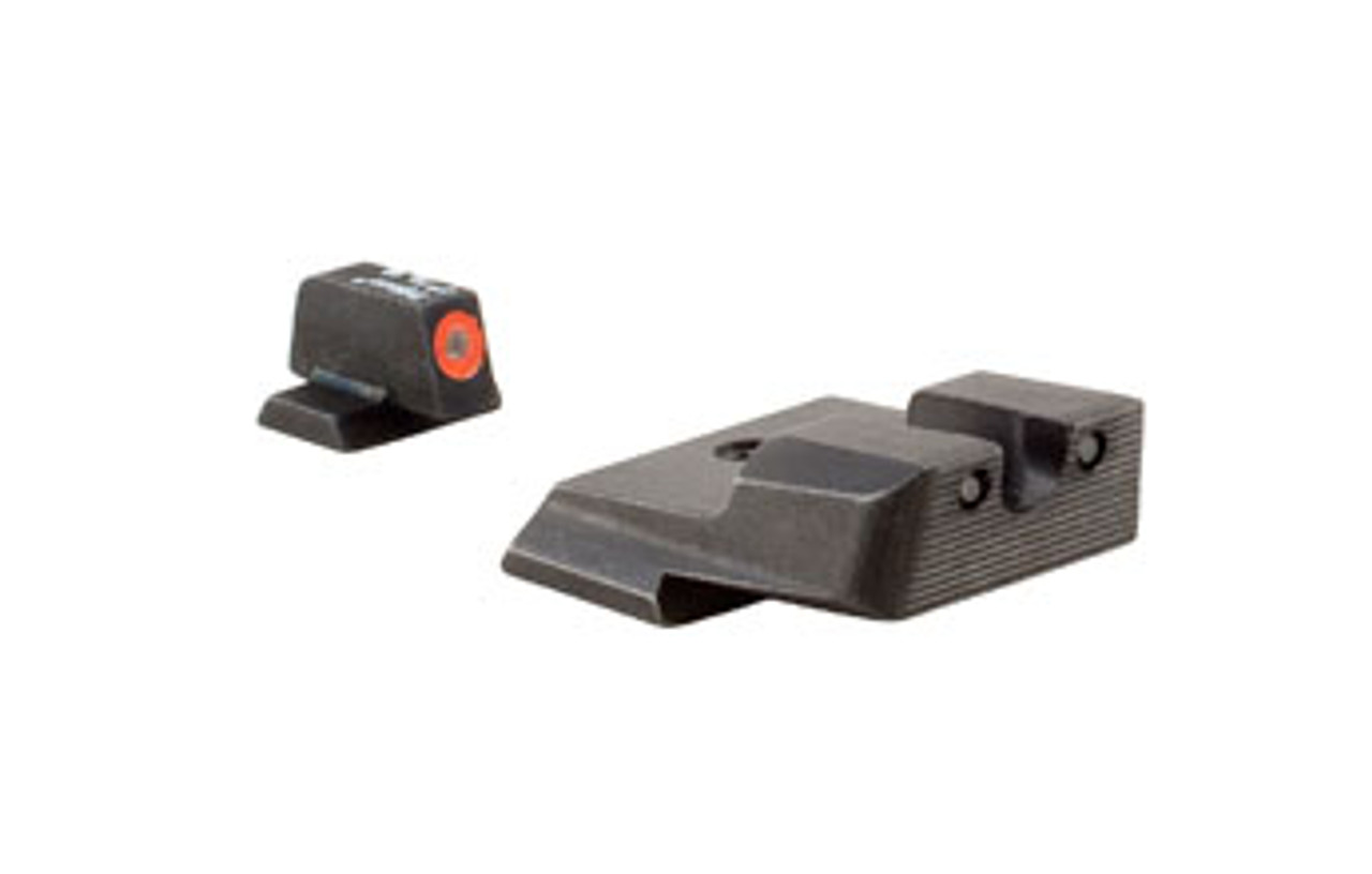 Trijicon SA637-C-600851 HD XR™ Night Sight Set —  Orange Front Outline — for Smith & Wesson® Pistols