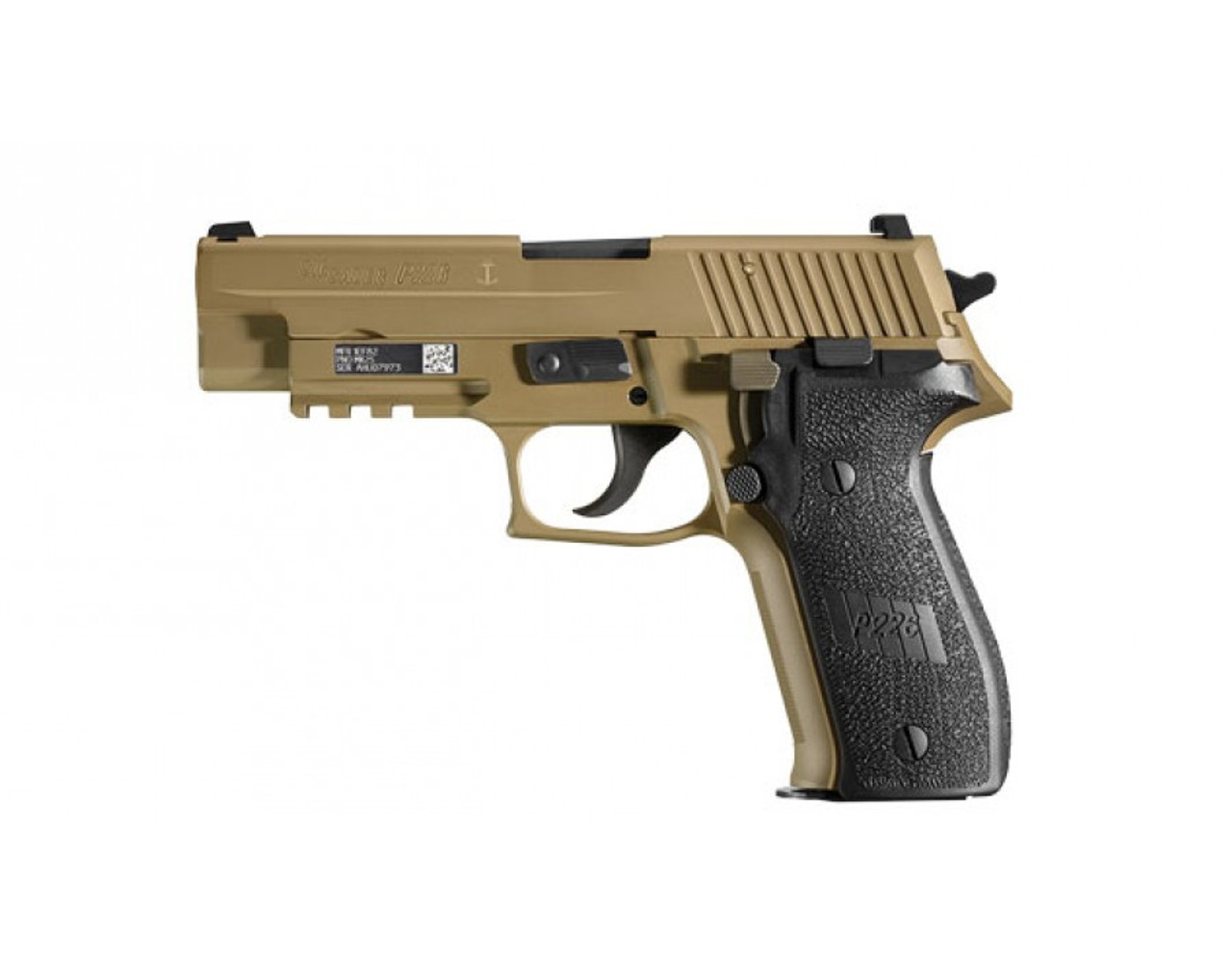 Sig Sauer P226 MK25 Navy FDE 9mm SIGLITE Night Sights