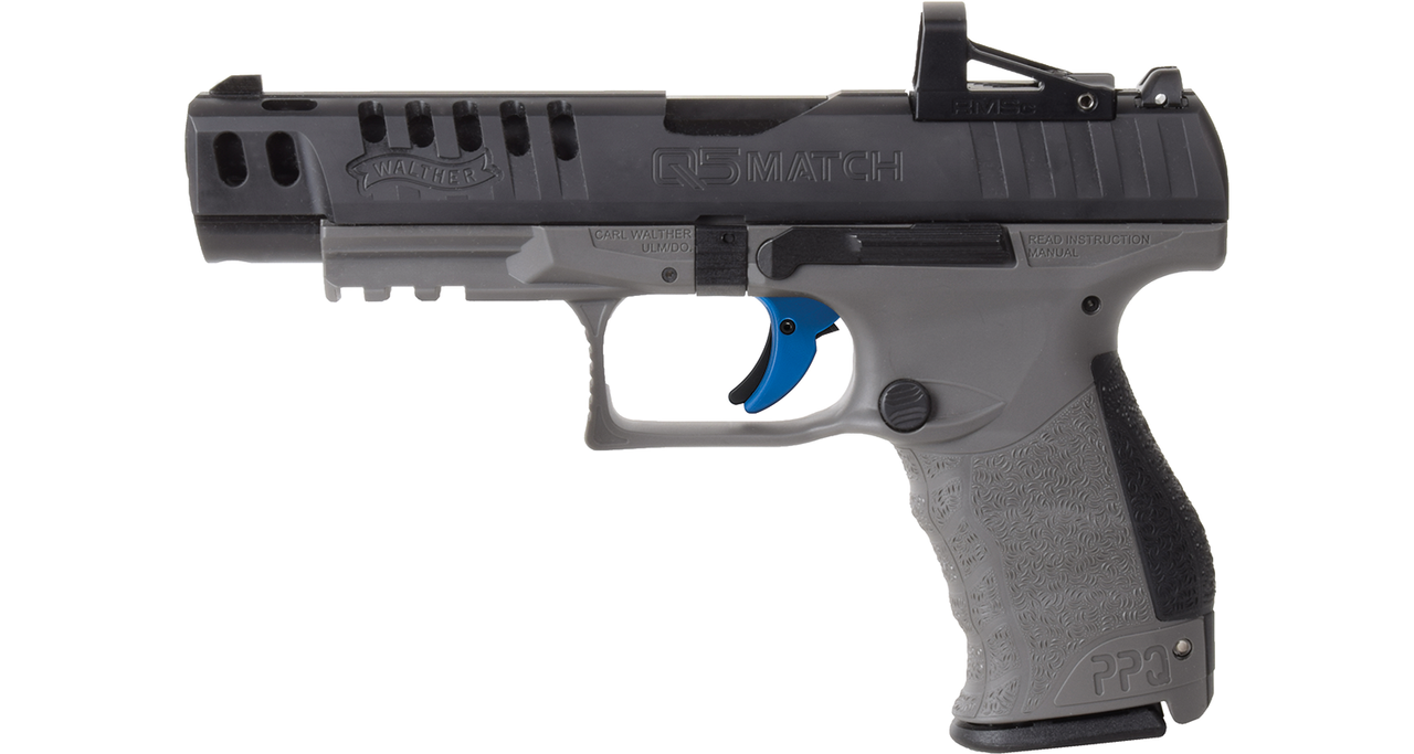 Walther PPQ Q5 Match Combo with Shield RMSC