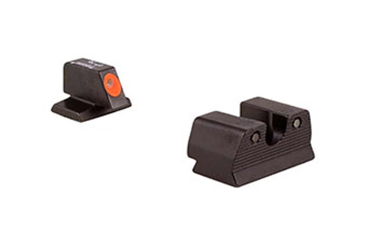 Trijicon - FN601-C-600881: Trijicon HD XR™ Night Sight Set — Orange Front Outline — for FNH® Pistols