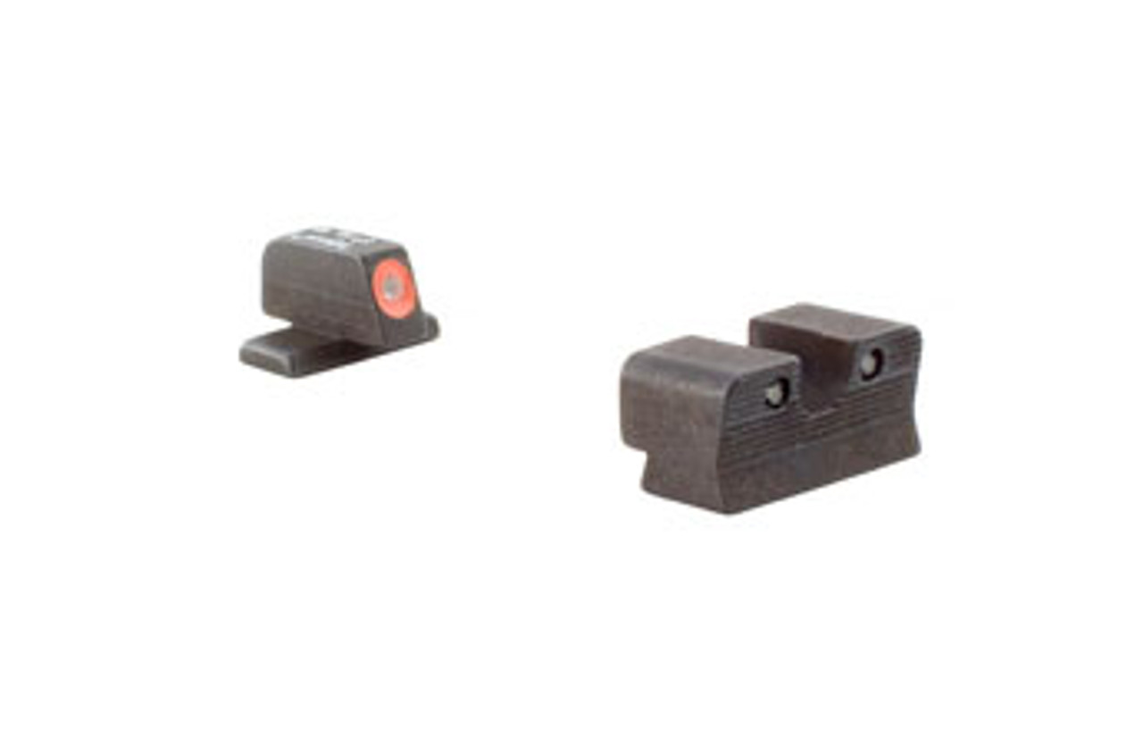 Trijicon - SG601-C-600866: Trijicon HD XR™ Night Sight Set — Orange Front Outline; Comparable to #8 Front/#8 Rear — for Sig Sauer® Pistols