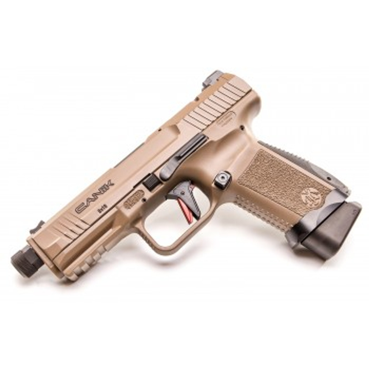 "Canik TPSF Elite Combat Model Semi-Auto Pistol, 9mm, 4.73"" Barrel, 10 Rounds, Polymer Frame"