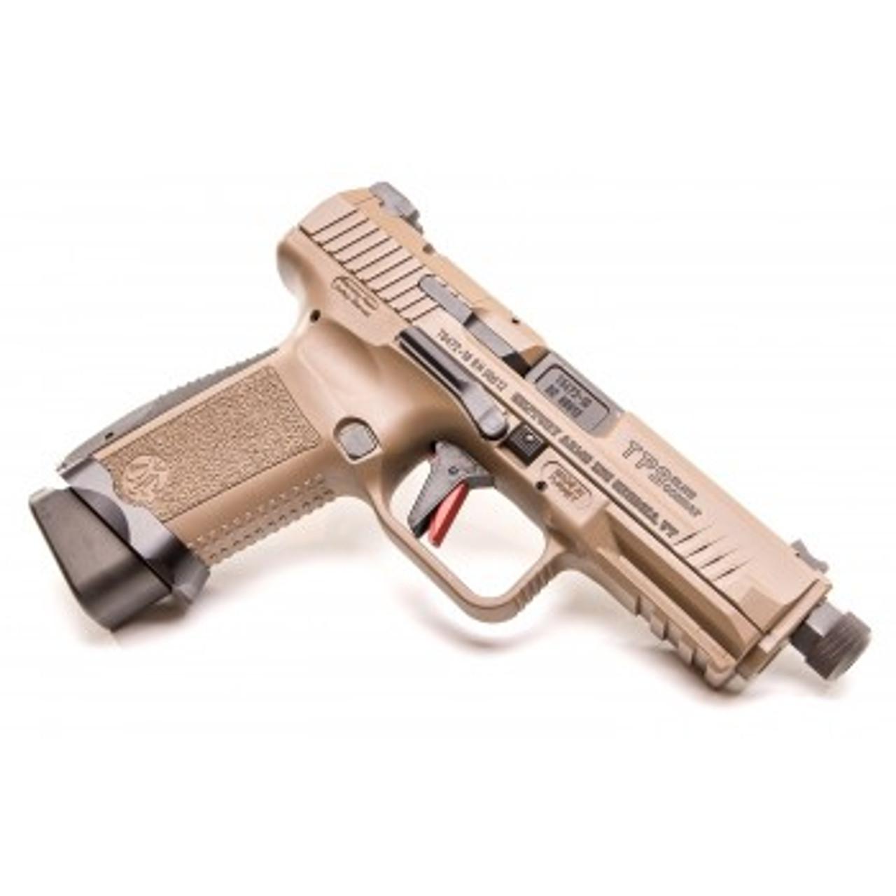"Canik TPSF Elite Combat Model Semi-Auto Pistol, 9mm, 4.73"" Barrel, 10 Rounds, Polymer Frame"