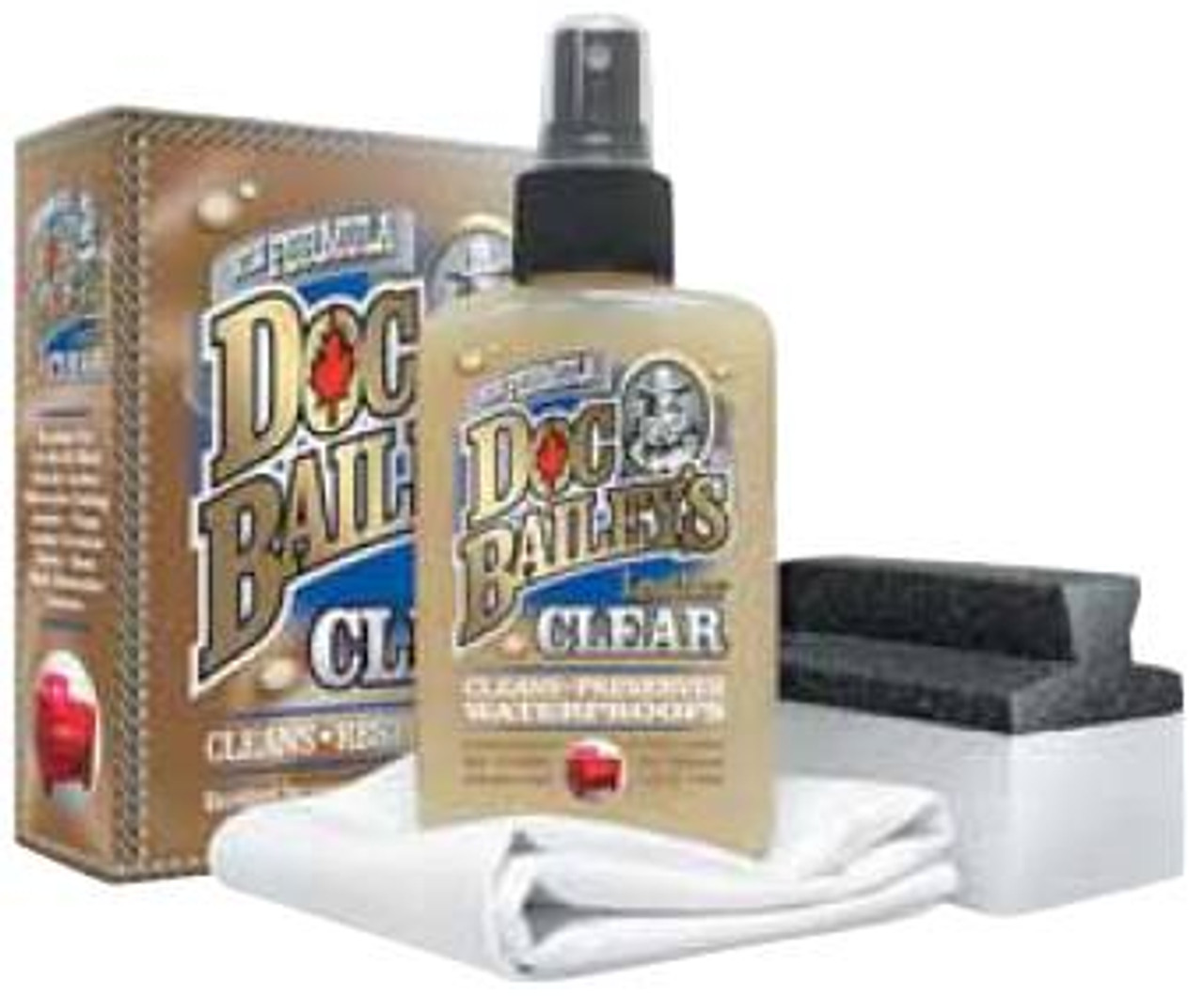 The Original Doc Bailey's Leather Clear Kit
