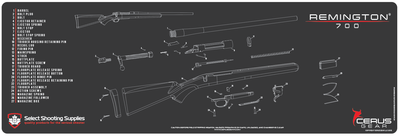 Remington 700 Trigger Diagram