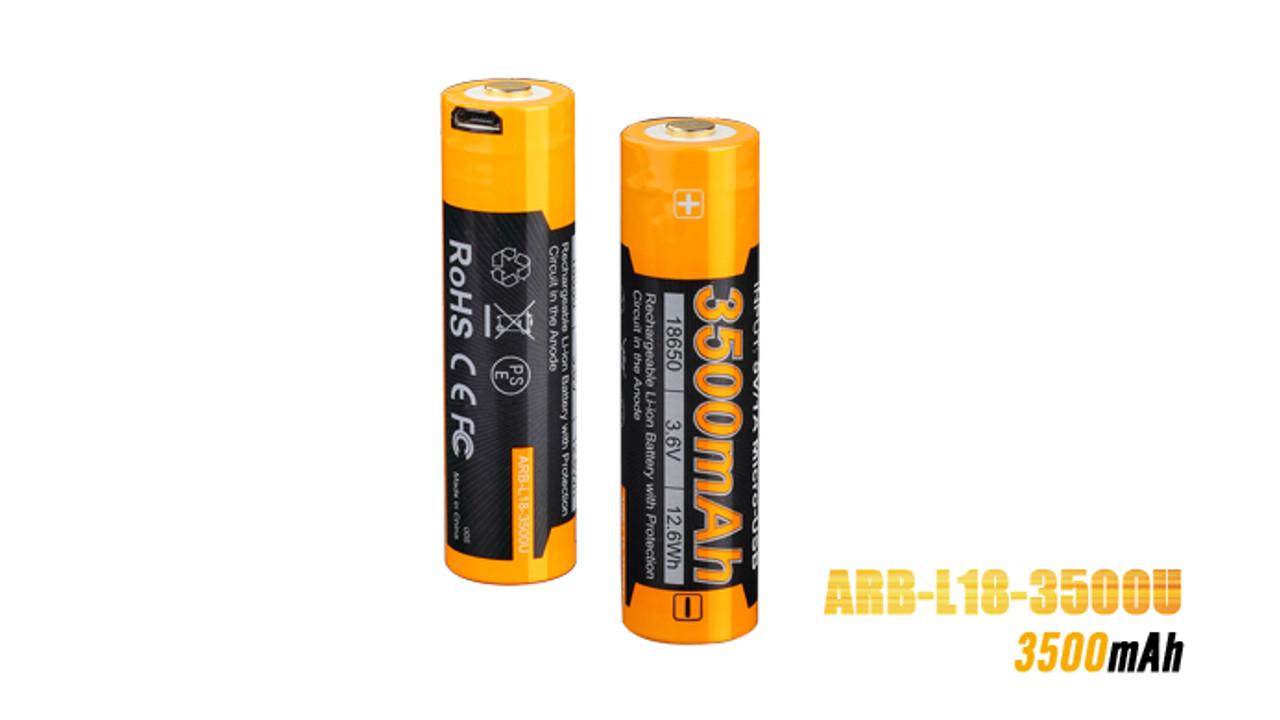 Fenix ARB-L18-3500U USB Rechargeable Battery