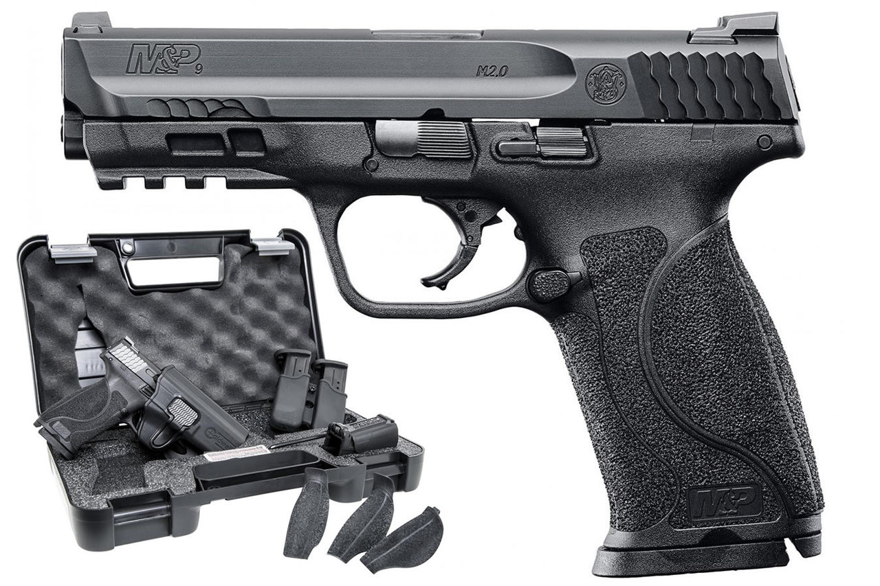Smith & Wesson M&P9 2.0 Carry & Range Kit, 9mm Semi-Auto Pistol