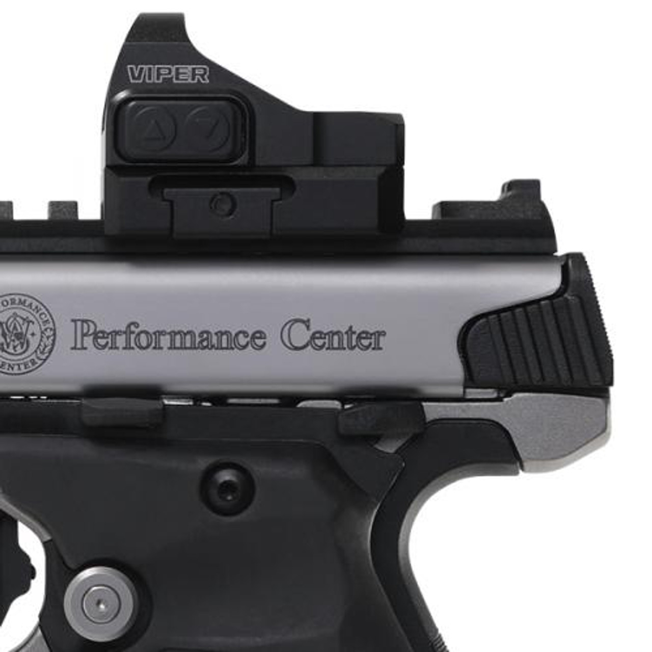 "PERFORMANCE CENTER® SW22 VICTORY® TARGET MODEL 6"" CARBON FIBER TARGET BARREL RED DOT SIGHT"