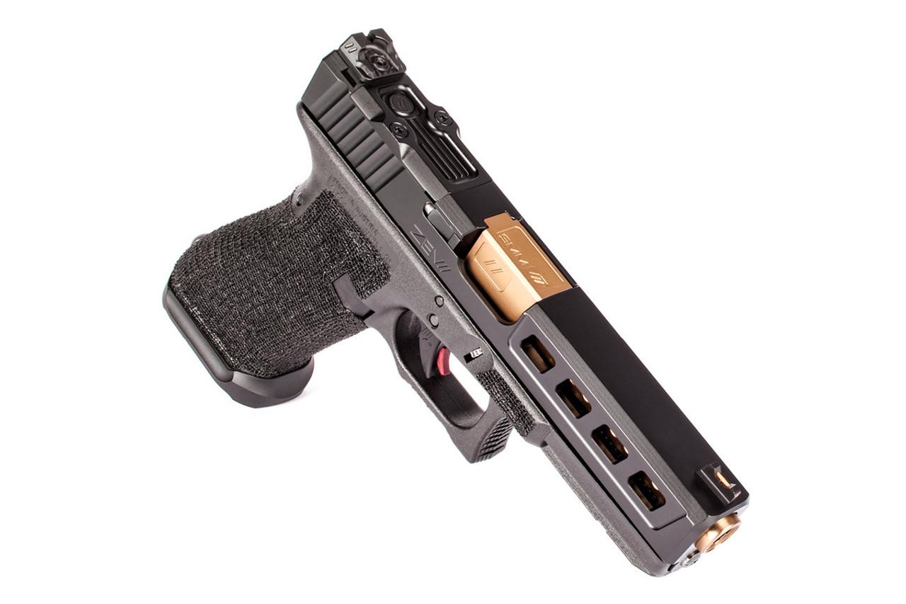 ZEV Z17 DRAGONFLY BLACK 3RD GEN RMR GUN MODIFICATION
