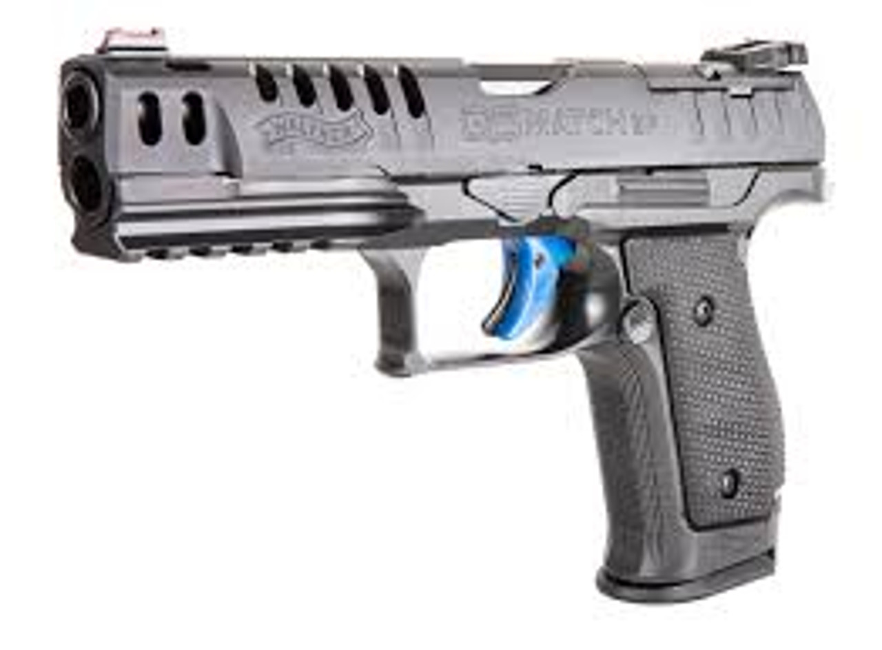 Walther PPQ Q5 Match Steel Frame Optic Ready 9mm