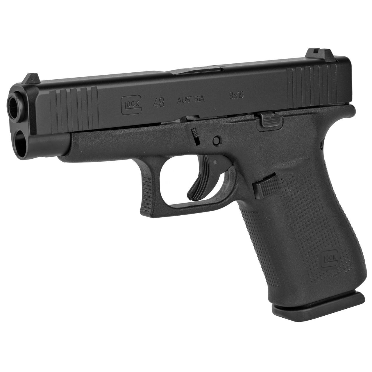 "Glock 48 - 9mm, 4.17"", Black/Black"
