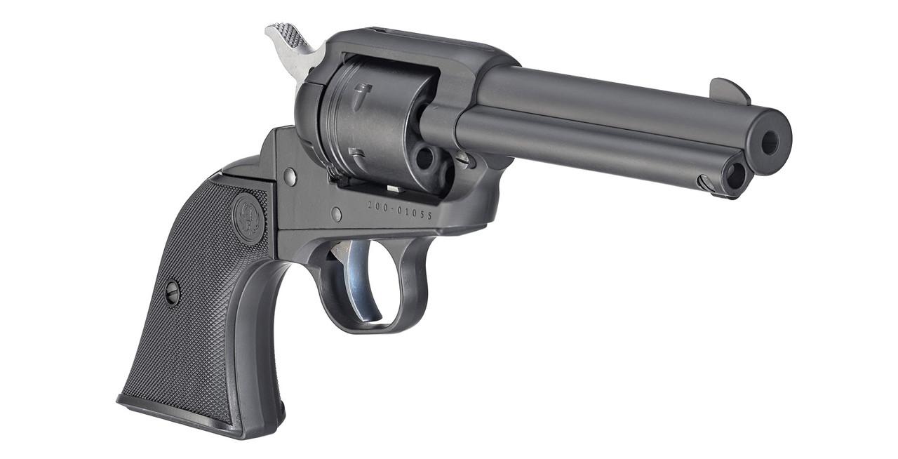 Ruger Wrangler Single-Action Revolver in Black Cerakote 22LR
