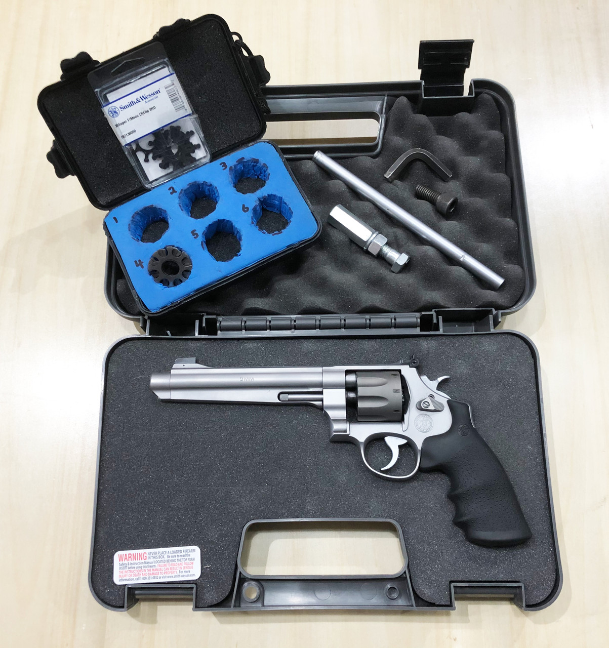 USED Smith & Wesson 929 Jerry Miculek Performance Center 9mm Revolver