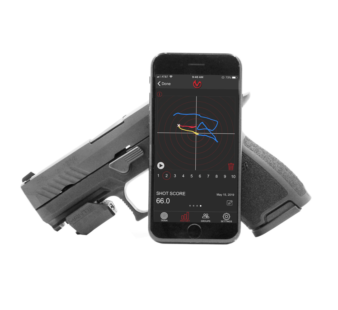 MANTIS X2 - DRY FIRE SHOOTING PERFORMANCE SYSTEM