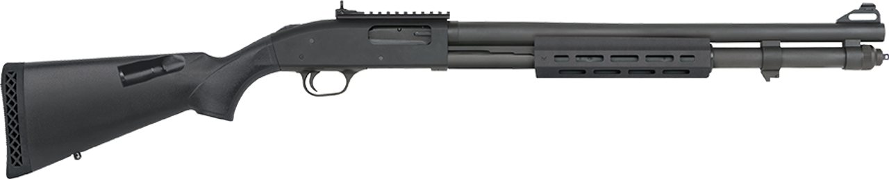 """Mossberg 590A1 M-Lok Forend, XS Ghost Ring Sights, 8+1, 12ga, 2 3/4"""" or 3"""" chamber, 20"""" Barrel"""