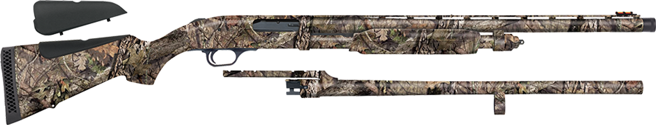"Mossberg 835 Ulti-Mag Combo (Turkey/Deer) 12ga, 2 3/4"" 3"" or 3.5"" Chamber, 24"" Smooth Bore and 24"" Fully-Rifled Barrel"
