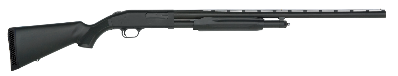 "Mossberg 500 All Purpose Field 12ga 2 3/4"" or 3"" Chamber, 28"" Barrel, Synthetic Stock"