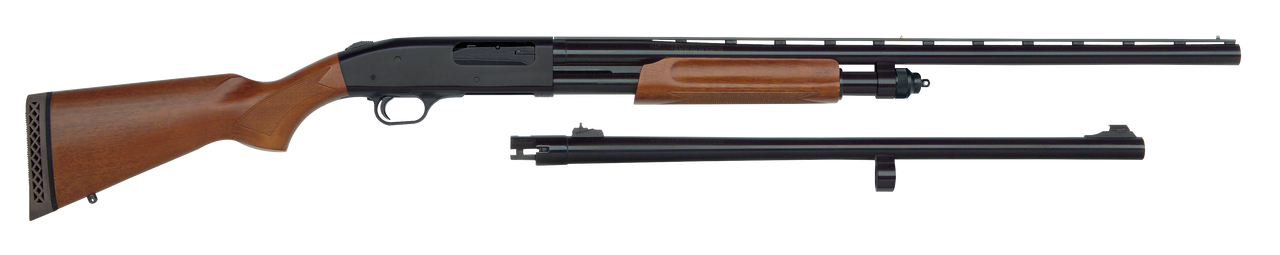 """Mossberg 835 Ulti-Mag Combo (Turkey/Deer) 12ga, 2 3/4"""" 3"""" or 3 1/2"""" chamber, 28"""" Smooth Bore and 24"""" Rifled Barrel, Wood Stock"""
