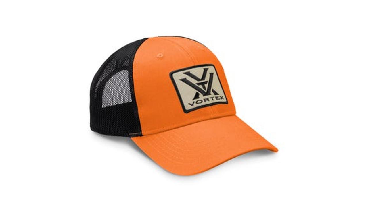 Vortex Men's Patch Logo Cap - Light Orange