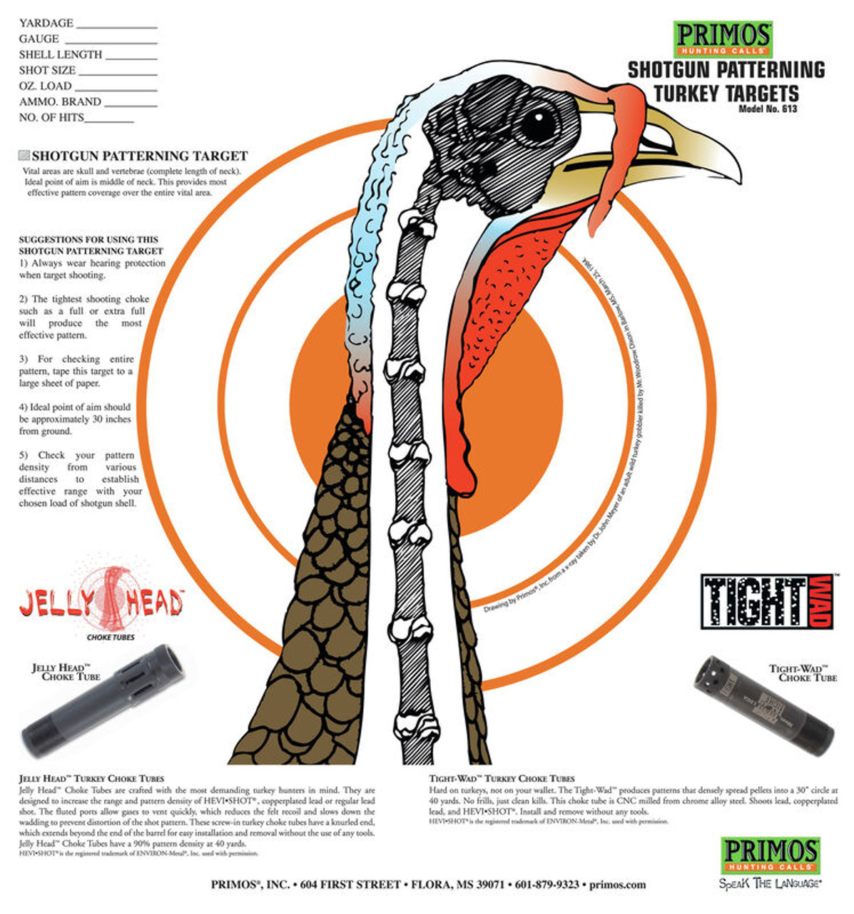 SHOTGUN TURKEY TARGETS