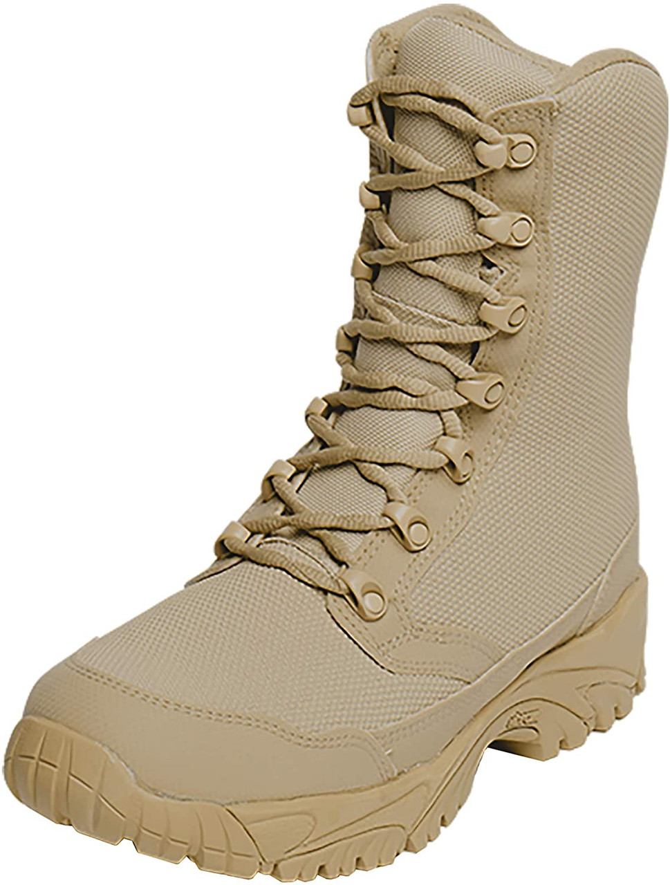 "ALTAI 8"" Tan Waterproof Combat Boot"