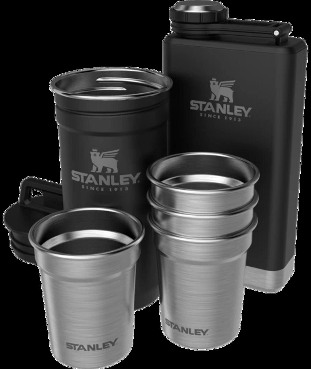 STANLEY - ADVENTURE PRE-PARTY SHOT GLASS + FLASK SET