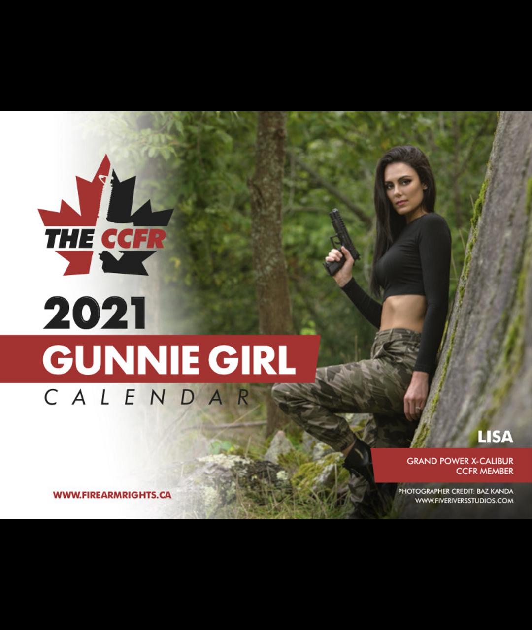 2021 CCFR Gunnie Girl Fundraising Calendar