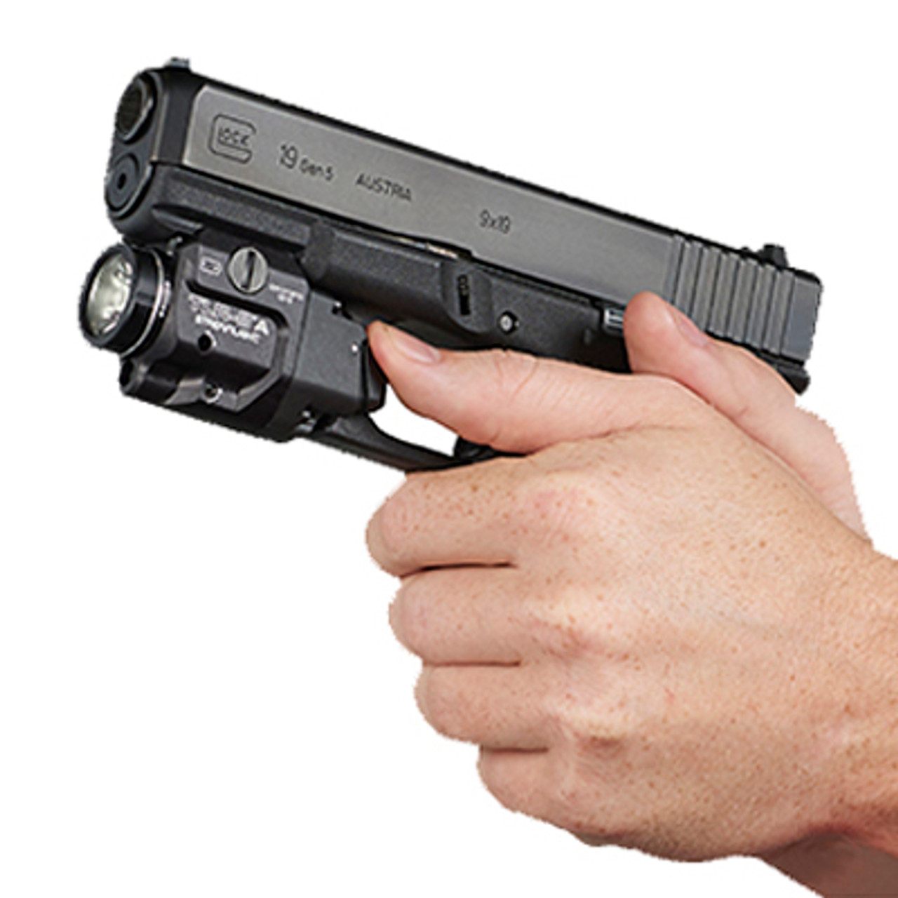 Streamlight - TLR-8®A GUN LIGHT WITH RED LASER AND REAR SWITCH OPTIONS