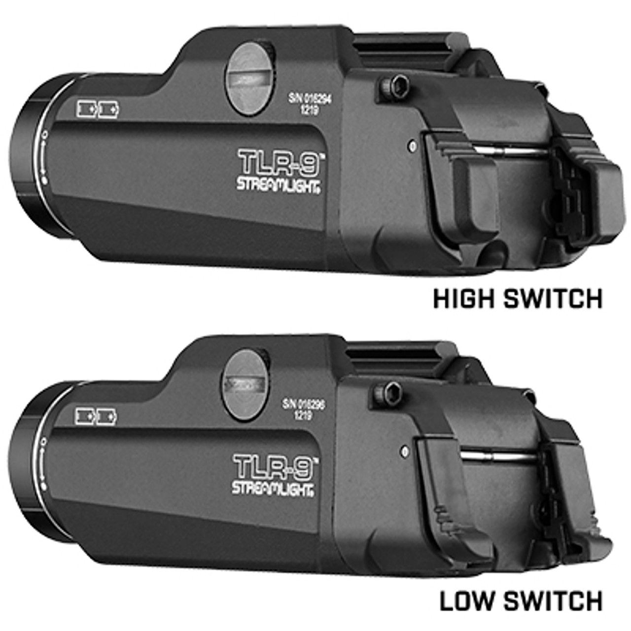 Streamlight - TLR-9™ GUN LIGHT WITH AMBIDEXTROUS REAR SWITCH OPTIONS