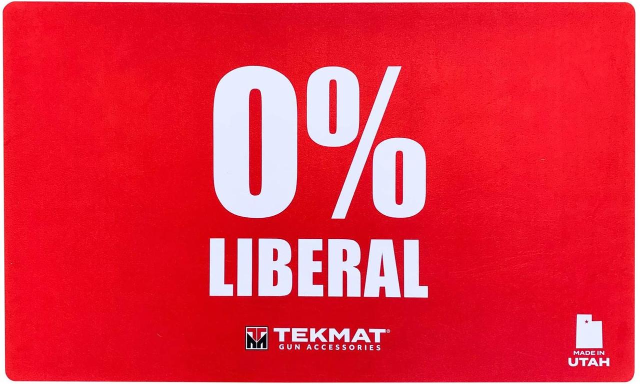 Zero Percent Liberal TekMat Door Mat