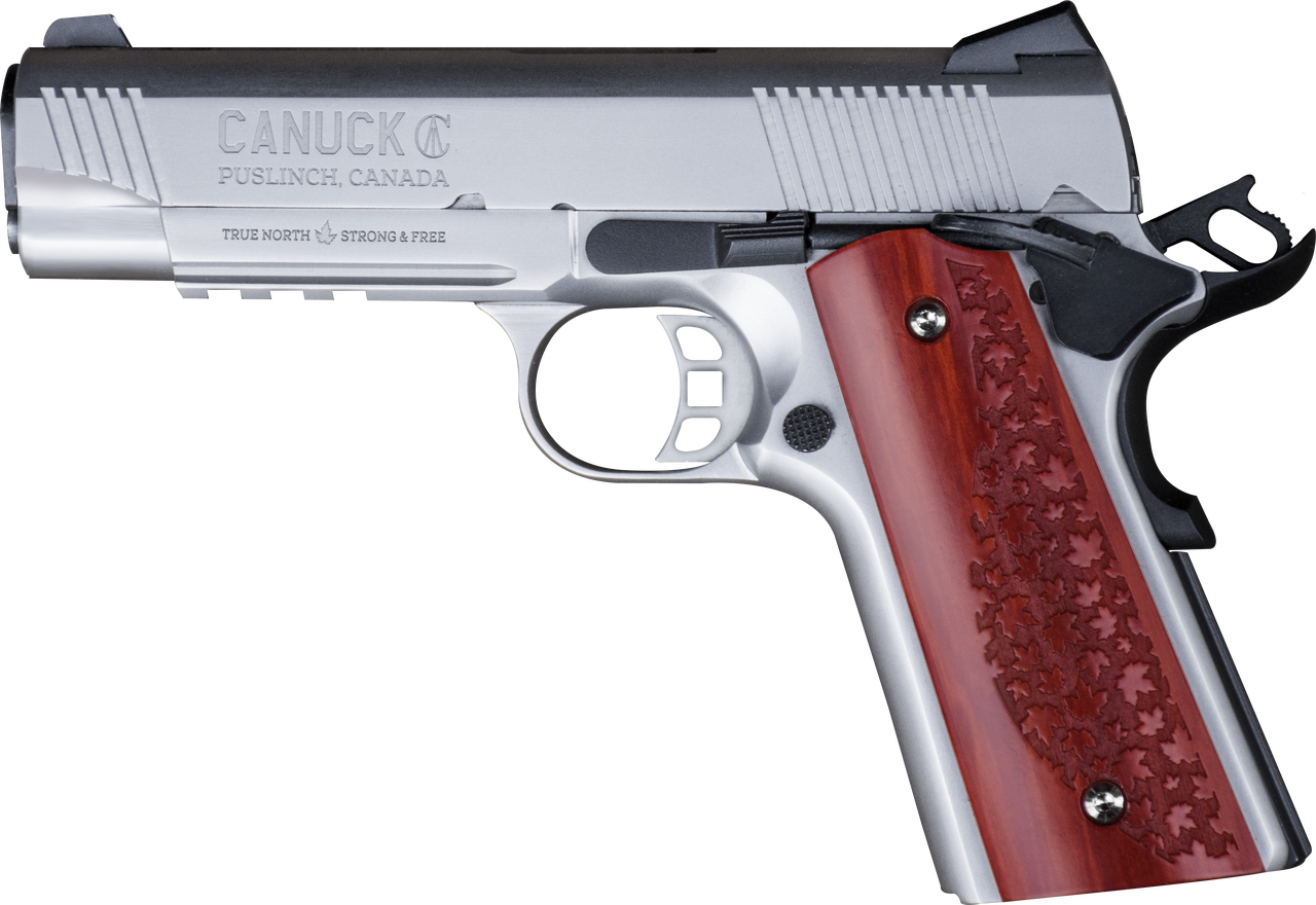 Canuck 1911 Commander .45ACP Stainless
