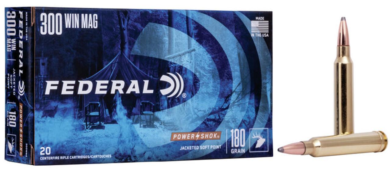 Federal Power Shok .300 Win Mag