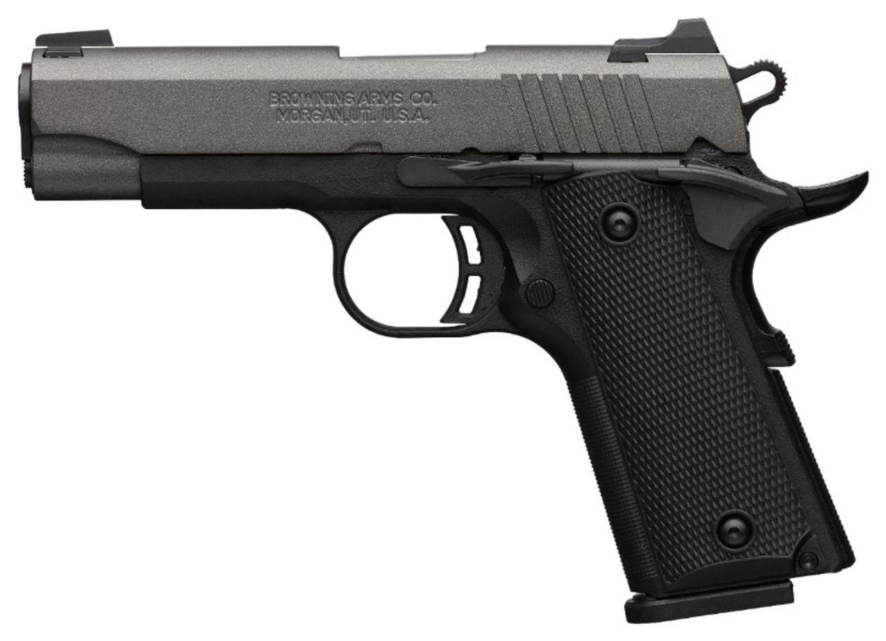 Browning 1911-380 Black Label Pro Tungsten .380ACP