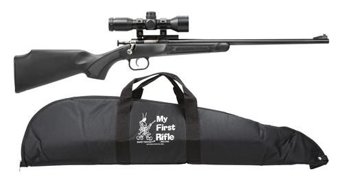 Crickett 22 LR Rifles (My First Rifle) with Scope & Case